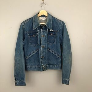 Vintage 70s Wrangler Denim Jacket